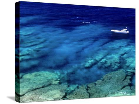 Sea of Ie Island--Stretched Canvas Print