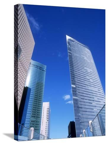 Shiodome--Stretched Canvas Print