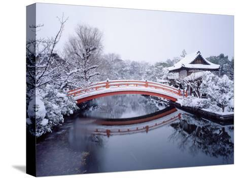 Shinsen-En Garden--Stretched Canvas Print
