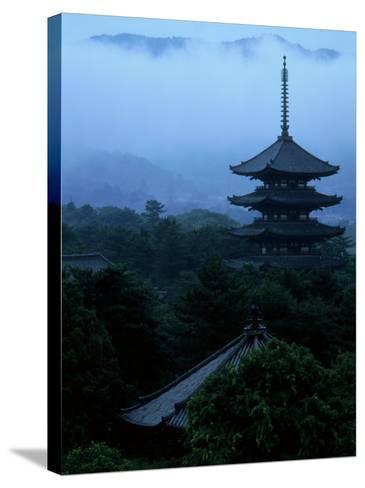 Pagoda of Koufukuji Temple--Stretched Canvas Print
