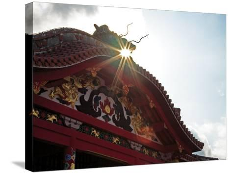 Shuri Castle--Stretched Canvas Print