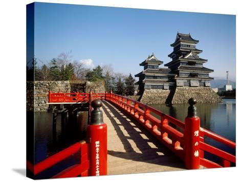 Matsumoto Castle, Nagano, Japan--Stretched Canvas Print