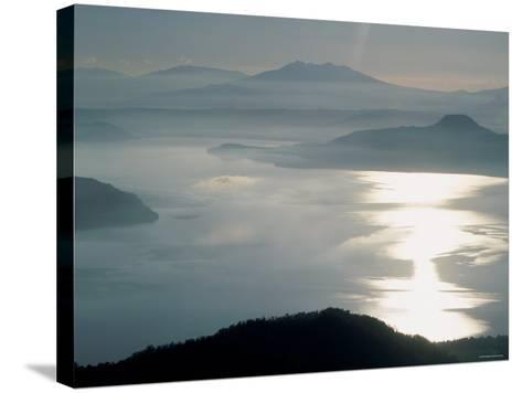 Lake Kussharo--Stretched Canvas Print