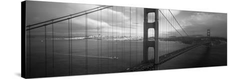 Golden Gate Bridge, San Francisco, California, USA--Stretched Canvas Print