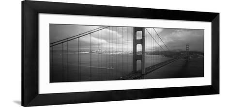 Golden Gate Bridge, San Francisco, California, USA--Framed Art Print