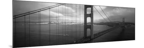 Golden Gate Bridge, San Francisco, California, USA--Mounted Photographic Print