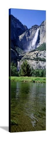Yosemite Falls, Yosemite National Park, California, USA--Stretched Canvas Print