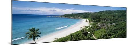 Grand Anse Beach, La Digue Island, Seychelles--Mounted Photographic Print