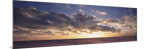 St. Peter at Sunset, Black Forest, Germany--Mounted Photographic Print