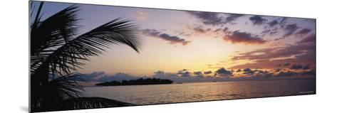Sea at Dusk, Negril, Jamaica--Mounted Photographic Print