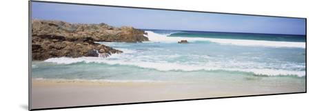 Waves on the Beach, Australia--Mounted Photographic Print