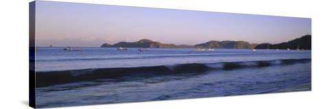 Hermosa Beach at Sunrise, Papagayo Peninsula, Guanacaste Province, Costa Rica--Stretched Canvas Print