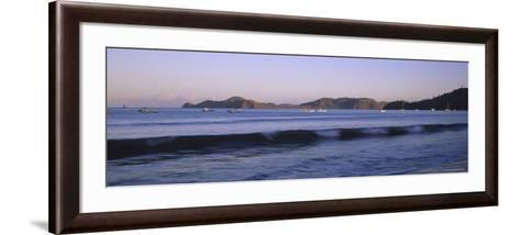 Hermosa Beach at Sunrise, Papagayo Peninsula, Guanacaste Province, Costa Rica--Framed Art Print