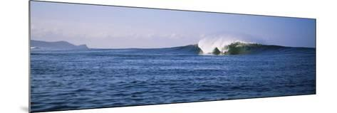 Waves in the Sea, Nicaragua--Mounted Photographic Print