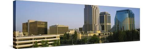 Skyscrapers in Sacramento, California, USA--Stretched Canvas Print