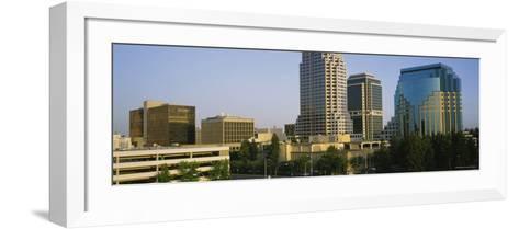 Skyscrapers in Sacramento, California, USA--Framed Art Print