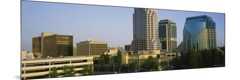 Skyscrapers in Sacramento, California, USA--Mounted Photographic Print