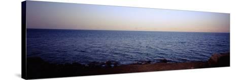 Dead Sea, Jordan--Stretched Canvas Print