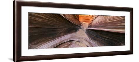 Rocks at a Canyon, Vermillion Cliffs, Arizona, USA--Framed Art Print
