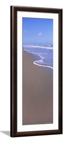 Surf on the Beach, Playlinda Beach, Canaveral National Seashore, Titusville, Florida, USA--Framed Art Print