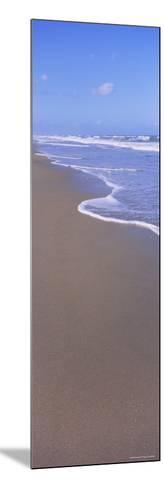Surf on the Beach, Playlinda Beach, Canaveral National Seashore, Titusville, Florida, USA--Mounted Photographic Print