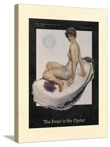 The Pearl in the Oyster--Stretched Canvas Print