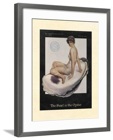 The Pearl in the Oyster--Framed Art Print
