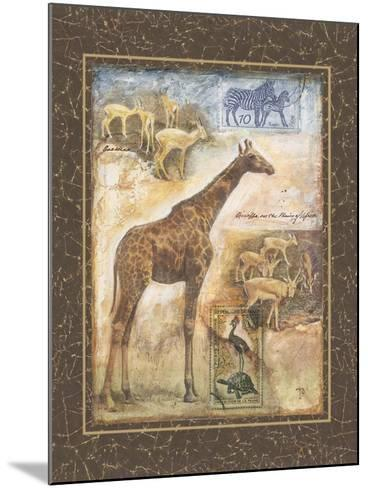 On Safari II-Tina Chaden-Mounted Art Print