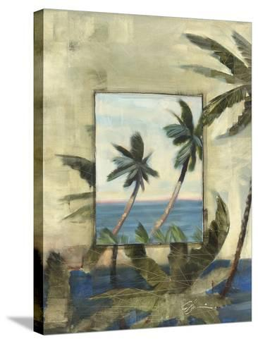 Breezy Palms, no. 1-Jeff Surret-Stretched Canvas Print