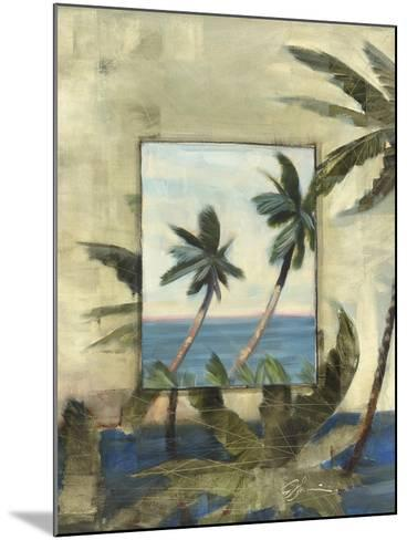 Breezy Palms, no. 1-Jeff Surret-Mounted Art Print