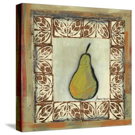 Sketched Pear-Martin Quen-Stretched Canvas Print