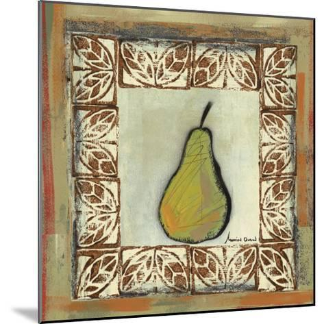 Sketched Pear-Martin Quen-Mounted Art Print