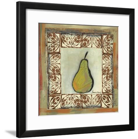Sketched Pear-Martin Quen-Framed Art Print