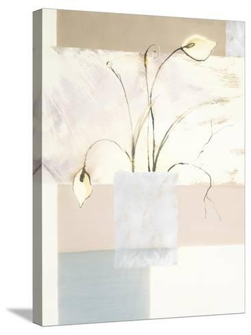Abstract Floral, no. 2-Stephanie Flateau-Stretched Canvas Print