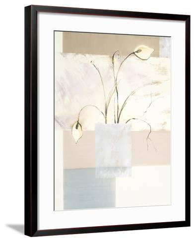 Abstract Floral, no. 2-Stephanie Flateau-Framed Art Print