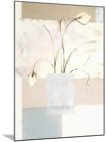Abstract Floral, no. 2-Stephanie Flateau-Mounted Art Print