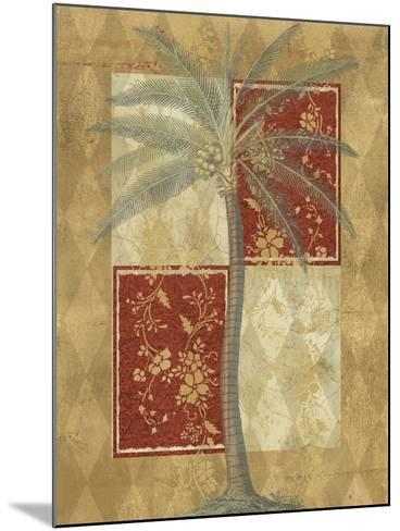 Harlequin Coconut Palm--Mounted Art Print