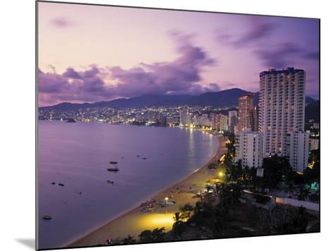 Acapulco, Mexico-Demetrio Carrasco-Mounted Photographic Print
