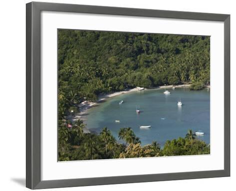 Playa Las Gatas, Zihuatanejo, Guerrero, Mexico-Walter Bibikow-Framed Art Print