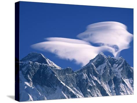 Everest and Lhotse, Nepal-Jon Arnold-Stretched Canvas Print