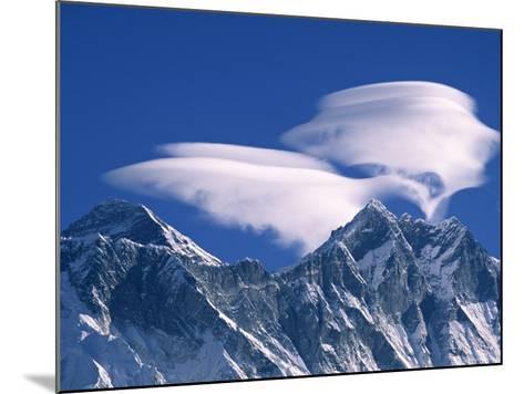 Everest and Lhotse, Nepal-Jon Arnold-Mounted Photographic Print