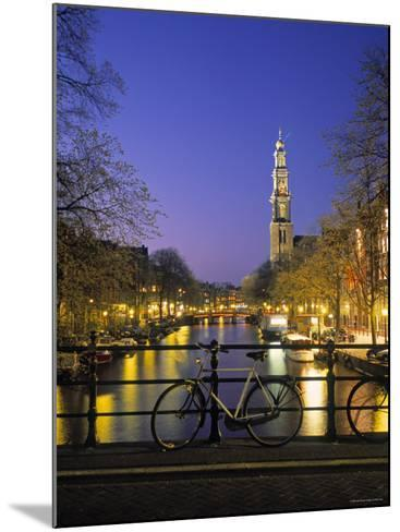 Prinsengracht and Wsterkerk, Amsterdam, Holland-Jon Arnold-Mounted Photographic Print