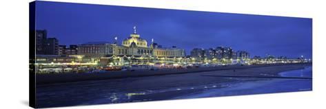 Casino, Scheveningen, Zuid, Holland-Walter Bibikow-Stretched Canvas Print