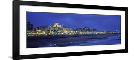 Casino, Scheveningen, Zuid, Holland-Walter Bibikow-Framed Art Print