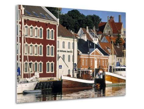 Harbour and Gamle Stavanger, Norway-Doug Pearson-Metal Print