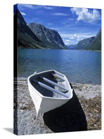Jolstravatnet Fjord, Jolster Area, Norway-Doug Pearson-Stretched Canvas Print