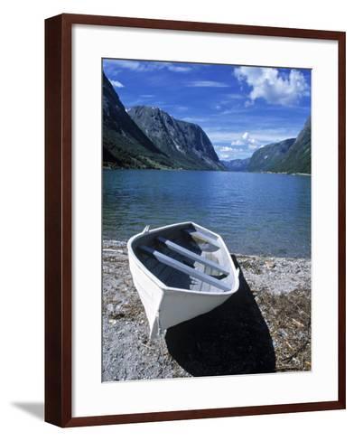 Jolstravatnet Fjord, Jolster Area, Norway-Doug Pearson-Framed Art Print