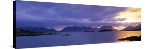 Henningsvaer, Vestfjorden, Lofoten Islands, Norway-Walter Bibikow-Stretched Canvas Print