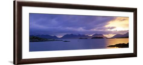 Henningsvaer, Vestfjorden, Lofoten Islands, Norway-Walter Bibikow-Framed Art Print