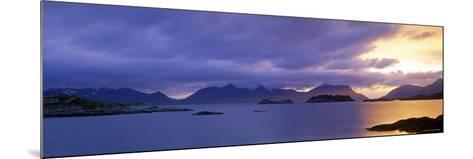 Henningsvaer, Vestfjorden, Lofoten Islands, Norway-Walter Bibikow-Mounted Photographic Print